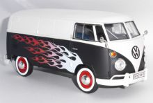Motormax VW Volkswagen Type 2 Hot Rod Collectors Model Scale 1/24 MTX79566 E